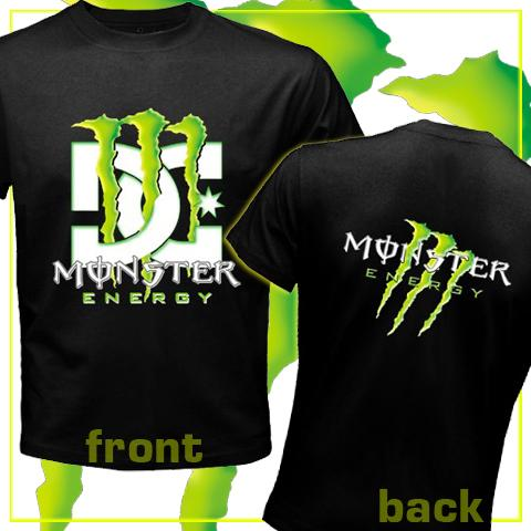 Sports Motorsports Auto Racing Monster Trucks on Monster Dc Combination Tshirt For The Sports Fan Of Supercross