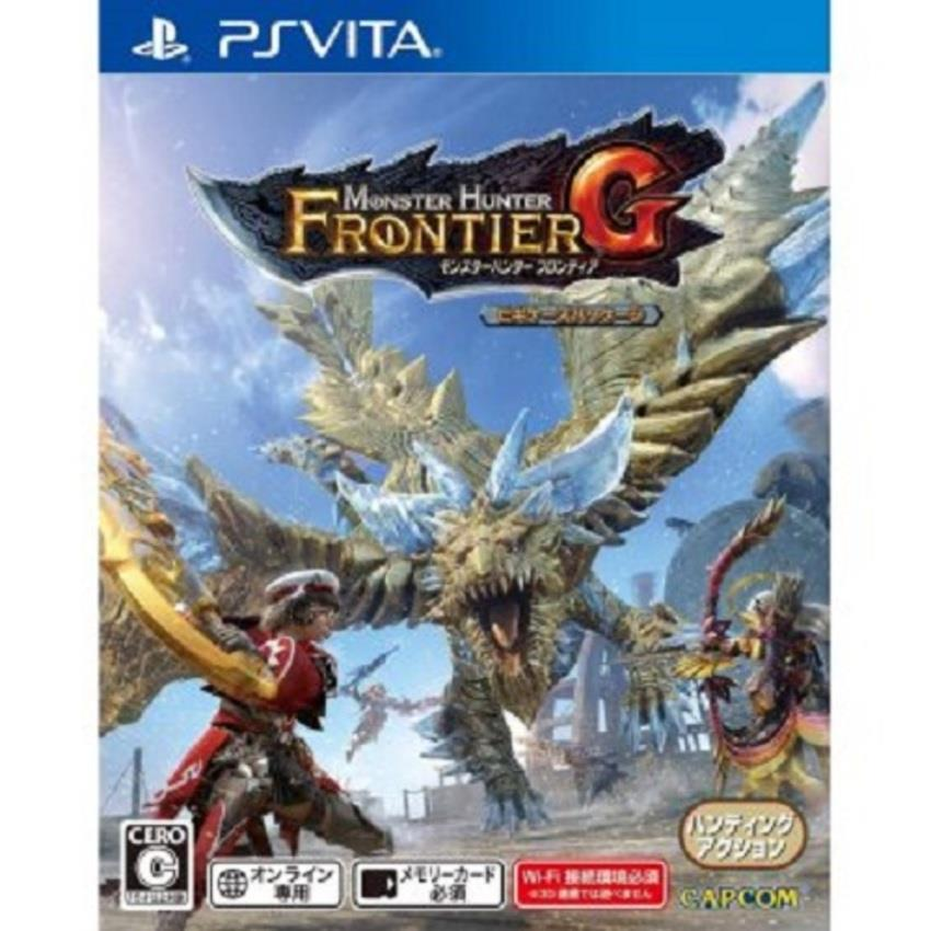 Monster Hunter Frontier G (PS Vita) (Chinese/R3)