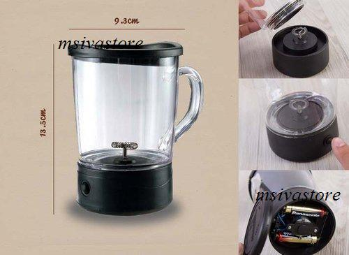 Mortised Coffee Magic Cup. Turn Ordinary Coffee Into a Gourmet Treat.
