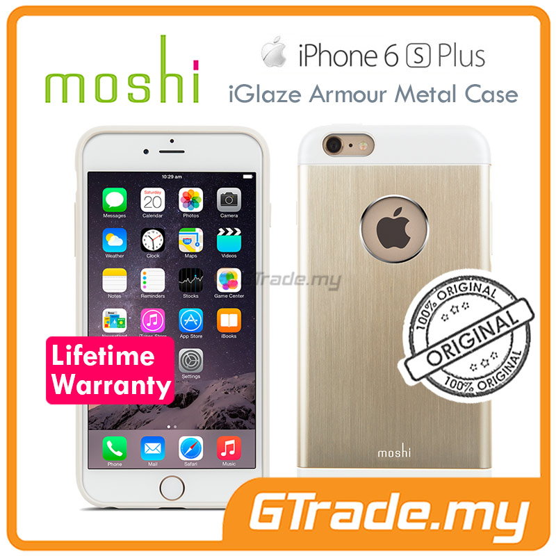 MOSHI IGLAZE Armour Slim Metal Case | Apple iPhone 6S 6 Plus Gold