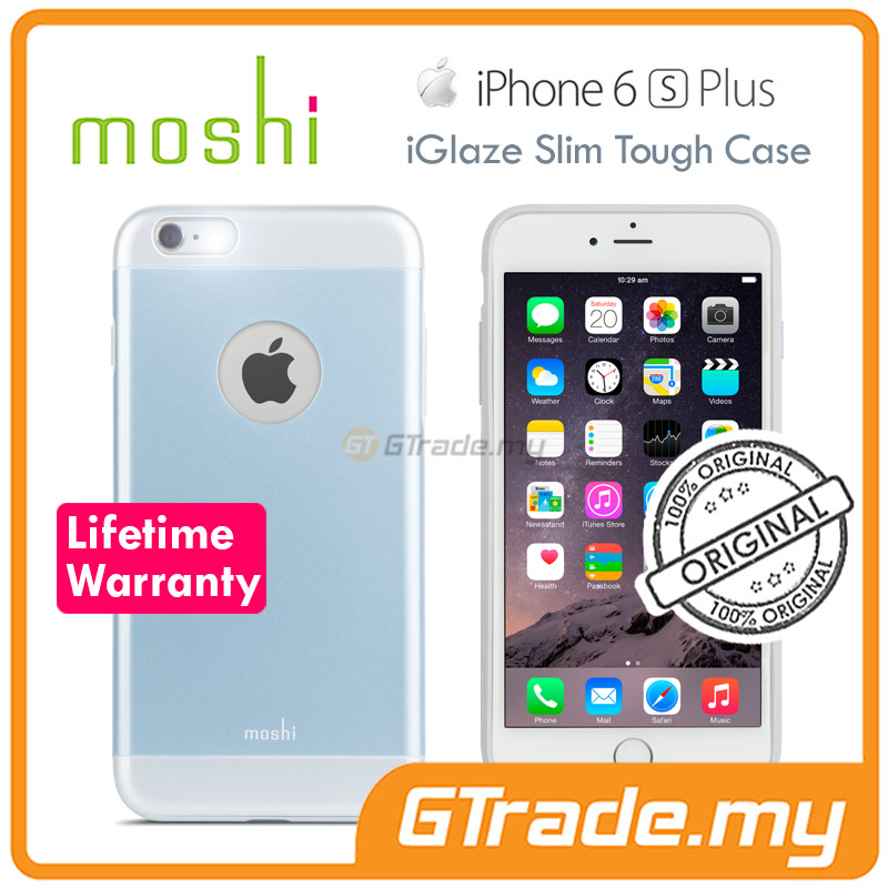 MOSHI IGLAZE Slim Tough Case | Apple iPhone 6S 6 Plus - Blue