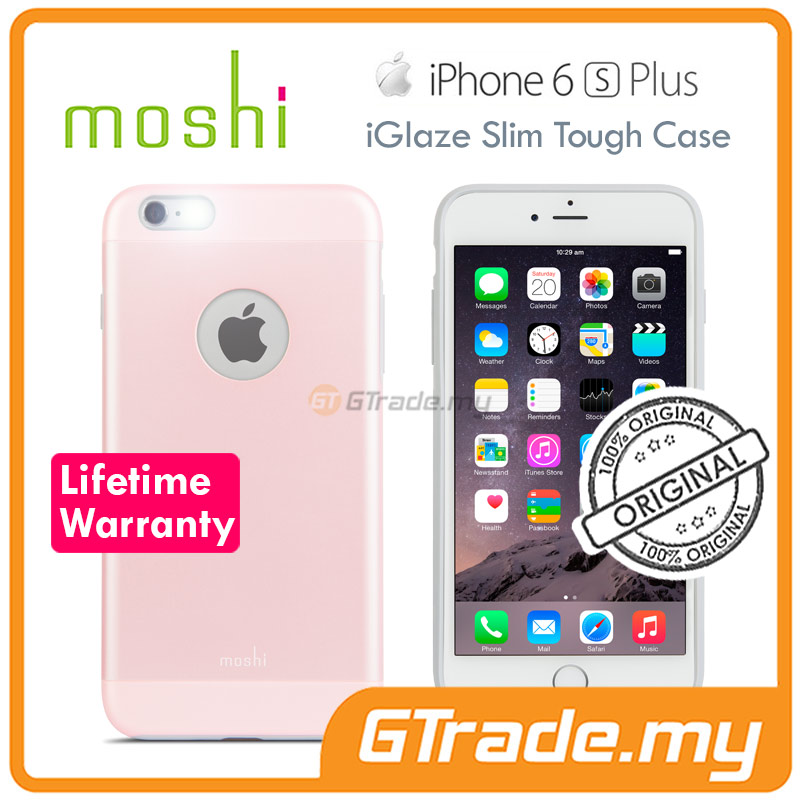 MOSHI IGLAZE Slim Tough Case | Apple iPhone 6S 6 Plus - Pink