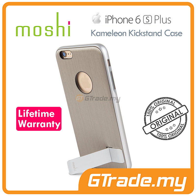 MOSHI KAMELEON KickStand Slim Case | Apple iPhone 6S 6 Plus Titanium