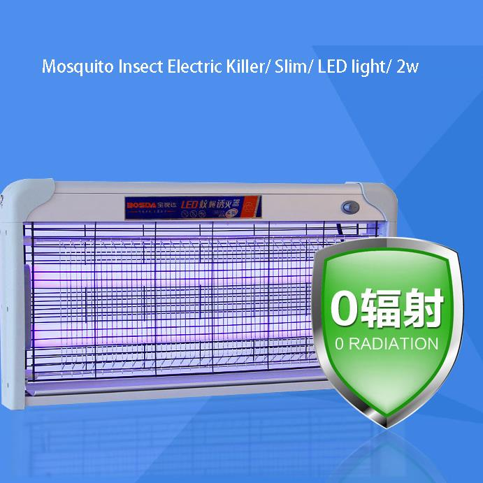 Mosquito Insect Electric Killer/ Slim/ LED light/ 2w