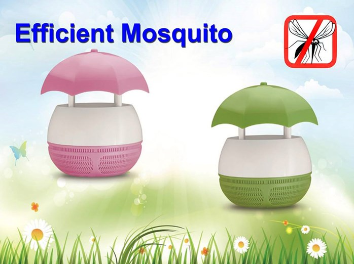 Mosquito Killer Blue Green Pink