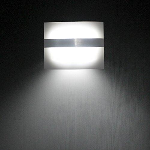 Motion Activation LED Wall Sconce Wi (end 2/18/2017 3:15 AM)