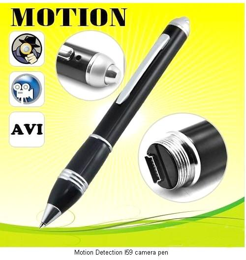 MOTION DETECT SUPER SLIM PINHOLE PEN AUDIO/VIDEO RECORDER (KLCCTV)