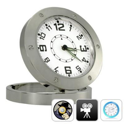 MOTION DETECTION CLOCK DVR WITH 6 IN 1 FUNCTION (CCTV)