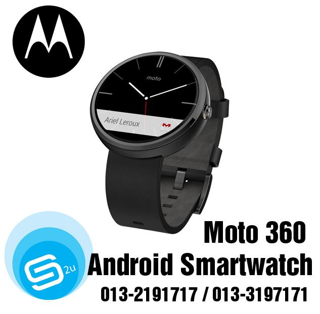 Moto 360 Android Smartwatch (Kuala Lumpur, end time 5/13 ...