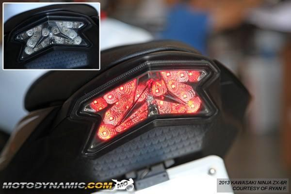 MOTODYNAMIC Sequential LED Tail Lights Z800 ZX6R