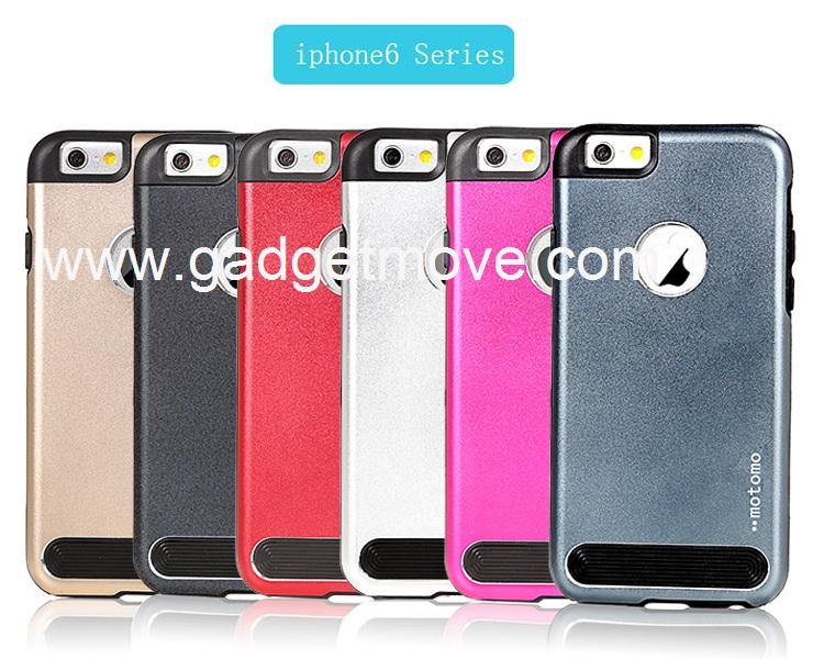 MOTOMO ESM iPhone 4 4S 5 SE 5S 6 6+ Plus Hybrid Armor Back Case Cover