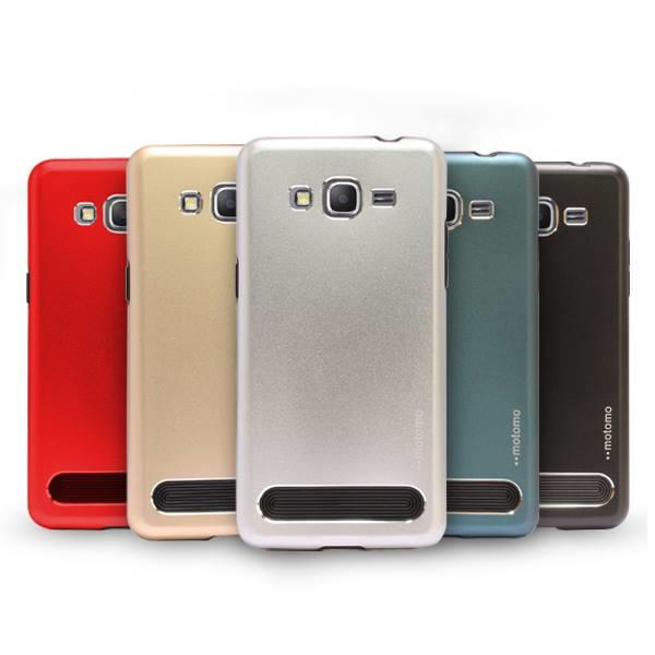 Motomo TPU Metal Phone Back Case Cover For Samsung Galaxy Grand Prime