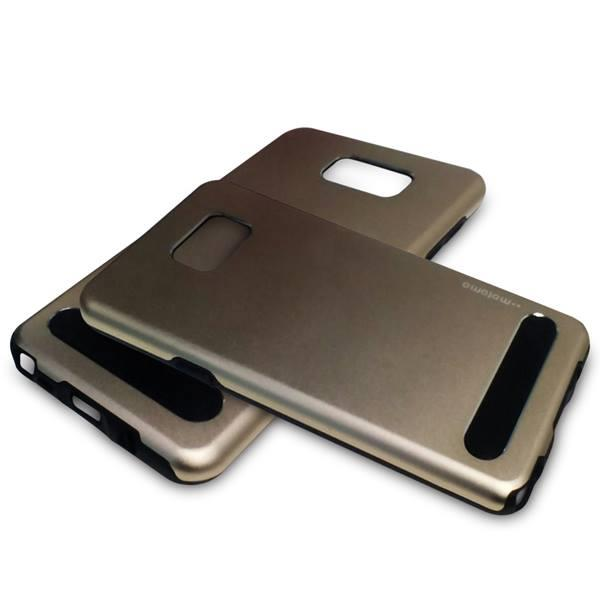 Motomo TPU Metal Back Phone Case Cover for Samsung Galaxy Note 4