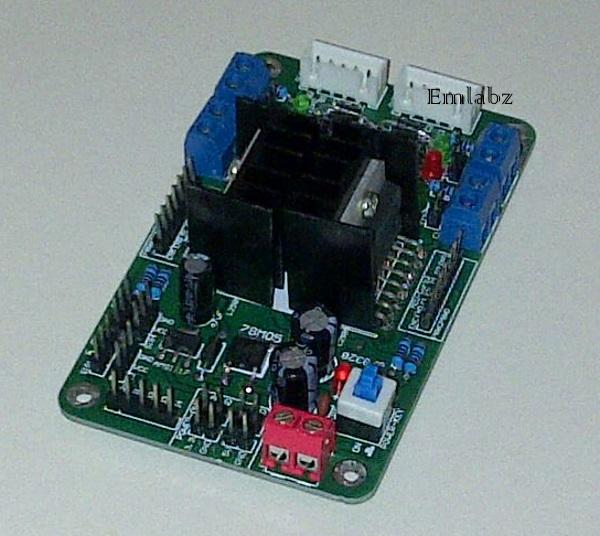 Motor Controller For 4 Dc Motors Or End 1 15 2018 2 15 Pm