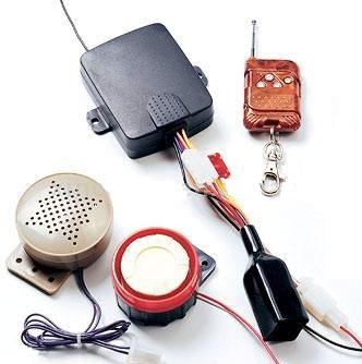 Motorcycle Alarm System with Voice - Promotion