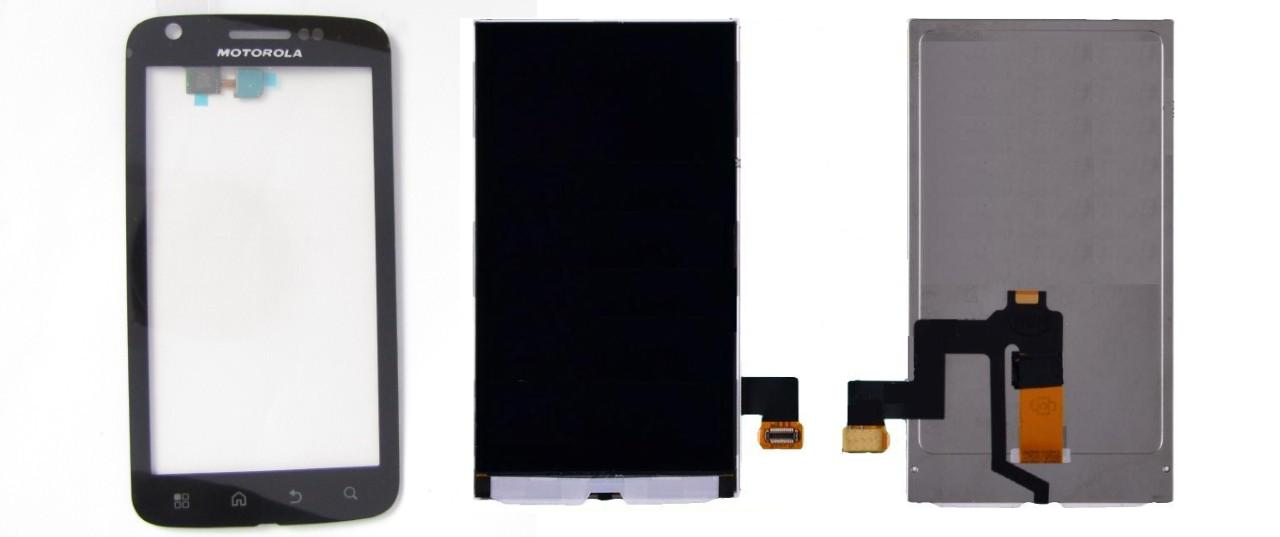 Motorola Atrix 4g MB860 Display Lcd / Digitizer Touch Screen Sparepart
