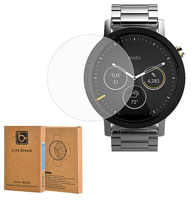 MOTOROLA MOTO 360 2ND GEN 46MM LINK DREAM TEMPERED GLASS PROTECTOR
