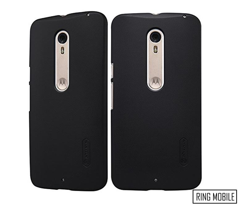 Motorola Moto X Style Nillkin Super Frosted Shield Back Case - Black