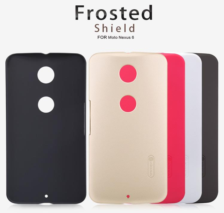 Motorola Nexus 6 Nillkin Super Frosted Shield Cover Sand Case