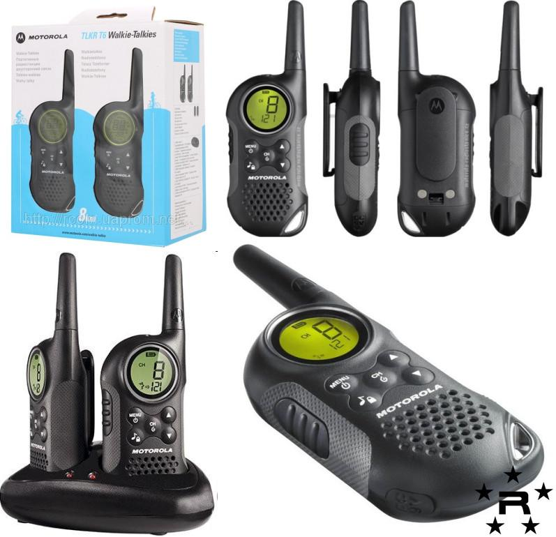 Motorola TLKR T6 Two Way Radio Walkie Talkie Original - rmtlee