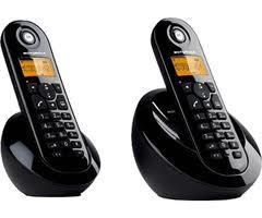 MOTOROLA TWIN DIGITAL CORDLESS PHONE, C602