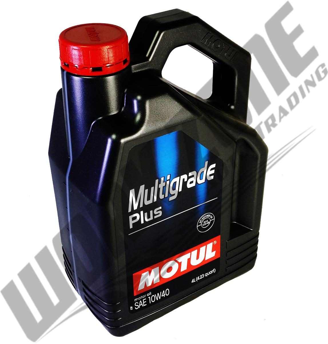 MOTUL MULTIGRADE PLUS 10W40 SM/CF ENGINE OIL 4L