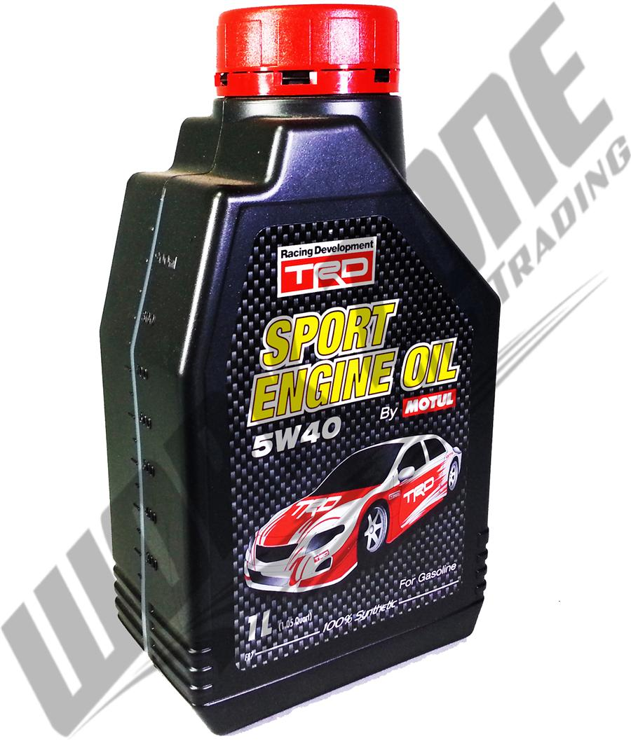Motul Trd Sport 5w40 Engine Oil 1l