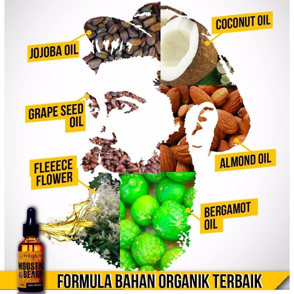 Moustache and Beard Oil MBO By MENSIVE ~FREE SHIPPING~