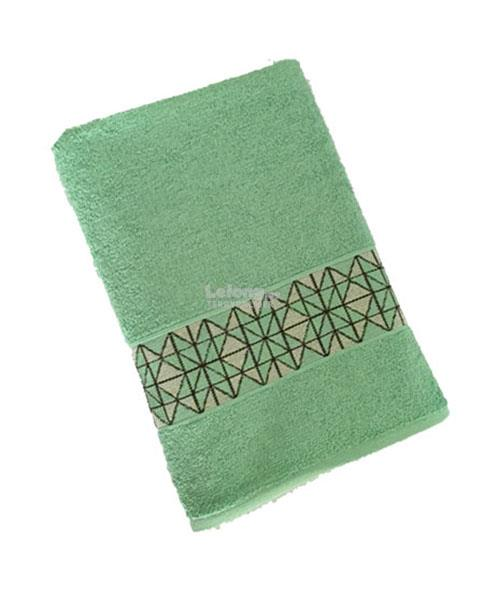 MP AUTRY 100%Cotton dobby border design bath towel 70x135cm -Mint