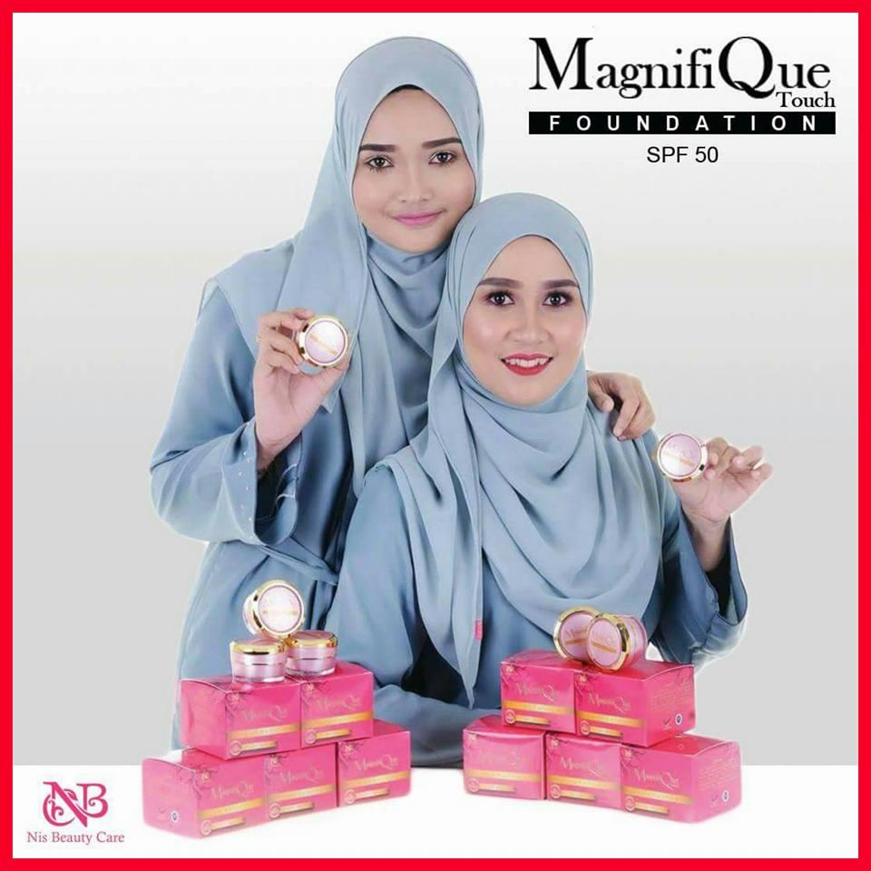 MQ TOUCH FOUNDATION - FOUNDATION MUDAH DICUCI