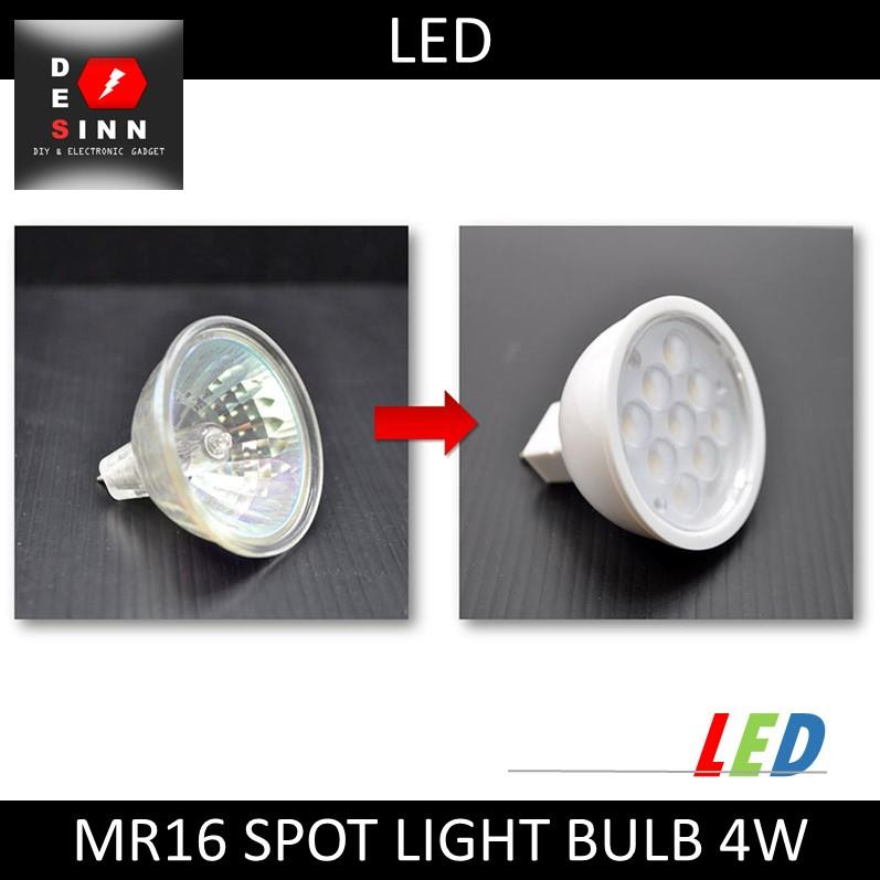 MR16 LED 4W SPOT LIGHT BULB