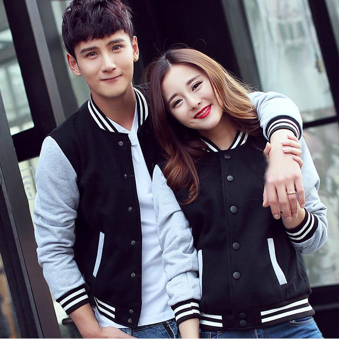 Couple Baseball Jacket - JacketIn