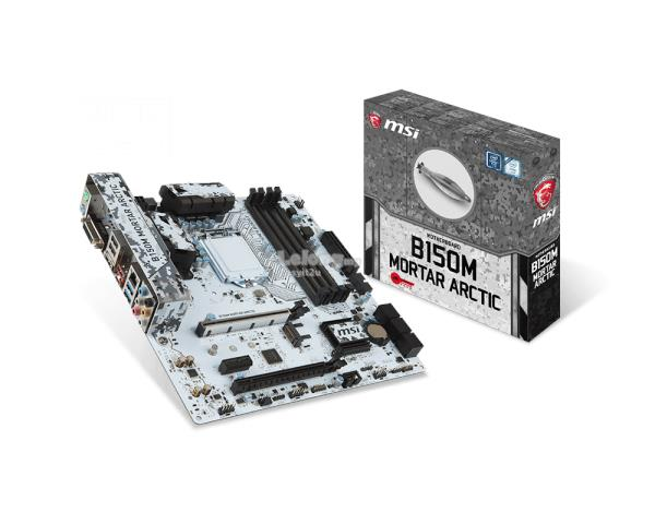 MSI B150M MORTAR ARCTIC SOCKET 1151 MAINBOARD
