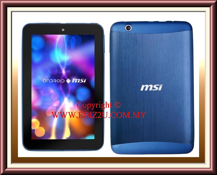 MSI Enjoy 71 7' Dual Core 1.5GHz Android 4.0.3 Tablet