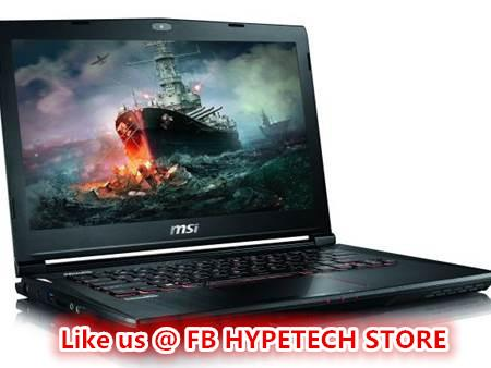 MSI GS40 6QE-081MY PHANTOM GAMING NOTEBOOK