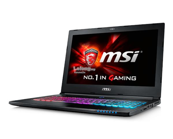 MSi GS70 6QE-219MY(i7-6700HQ,GTX970,16GB DDR4,256GBSSD+1TB HDD,17.3FHD