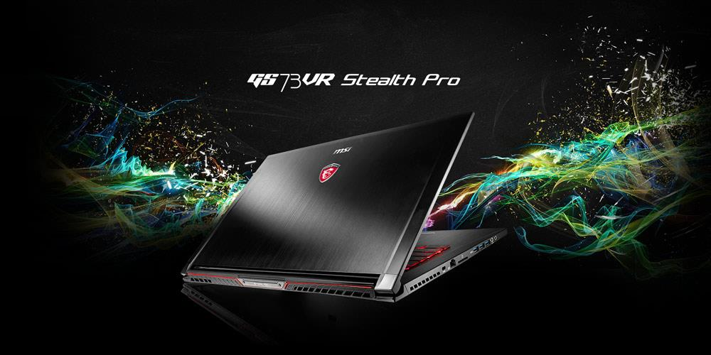 MSI GS73VR 7RF-261MY STEALTH PRO GAMING NOTEBOOK