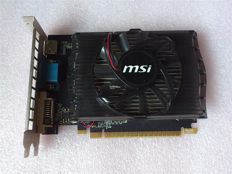 MSI GT630 2GB GDDR3 128 Bit Graphic Card GT 630 pci-e N630GT