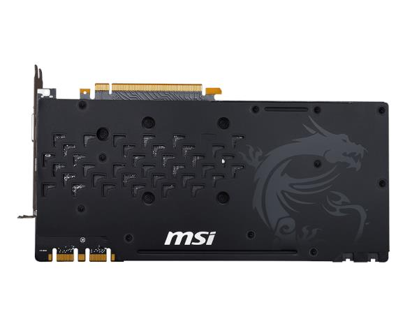 MSI GTX 1080 GAMING X 8G DDR5 Graphics Card