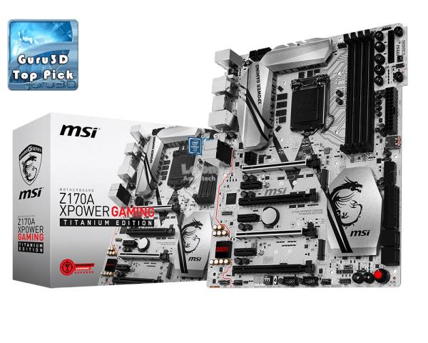 MSI Intel Z170A XPOWER GAMING TITANIUM EDITION Mainboard
