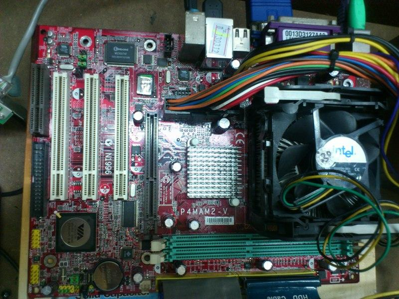MSI P4MAM2-V Intel Socket 478 Mainboard 230312