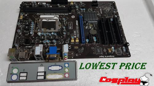 Msi PH61 SP35 B3 1155 Socket DDR3 MotherBoard Build in VGA DVI