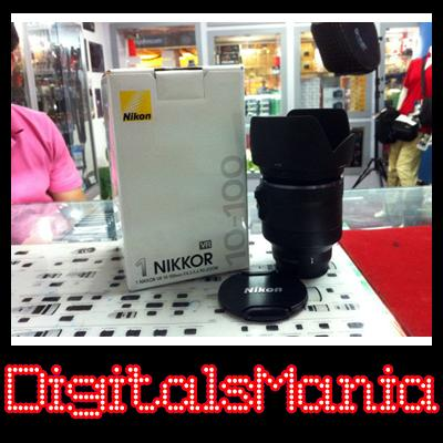 Msia Warranty Nikon 1 VR 10-100mm f4.5-5.6 Lens + Gifts - J1 or V1