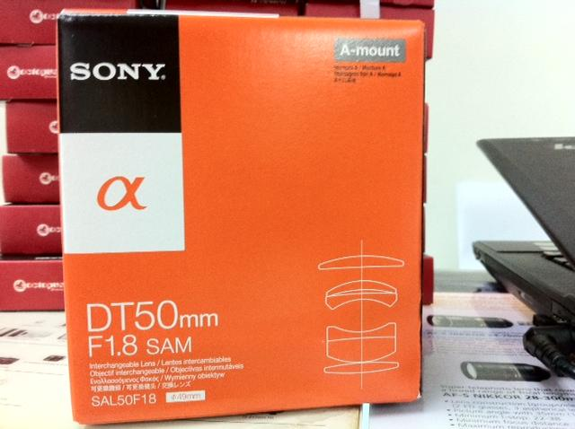 Msia Warranty Sony DT 50mm f1.8 SAM Lens alpha a33 a55 a77 a57