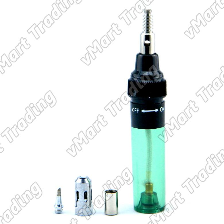 MT-100 2-in1 Butane Gas Soldering Iron / Blow Torch