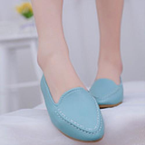MT007708 Korean Peas Flat Shoes