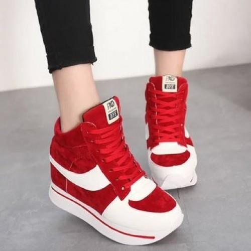 MT008506 Korean Lace Leisure Sports Canvas Shoes