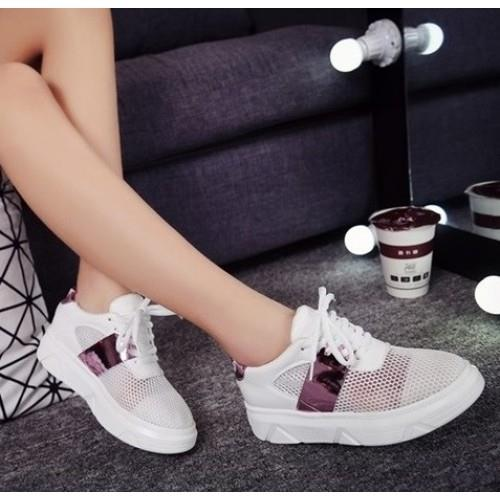 MT012837 Casual Thick Crust Mesh Sneakers Running Shoe