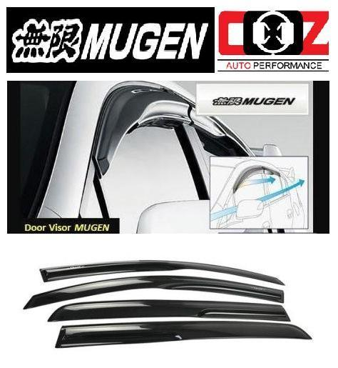 [Mugen Style ] Acrylic Door Visor Suzuki Swift 2013-2016 (4pcs/set)