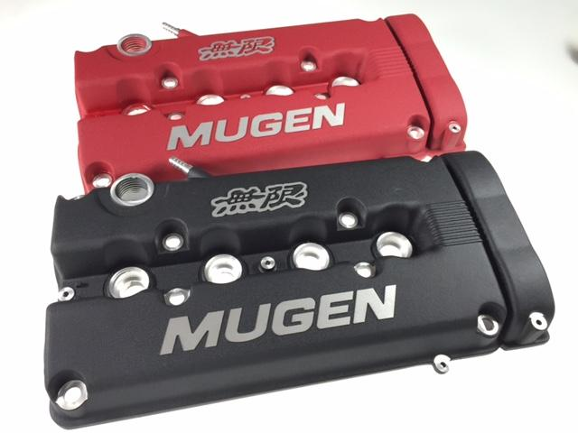 MUGEN valve cover B16/B18 RED & BLACK color